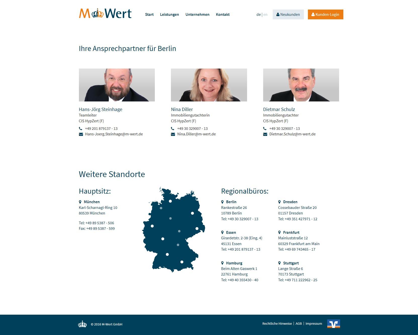 M Wert